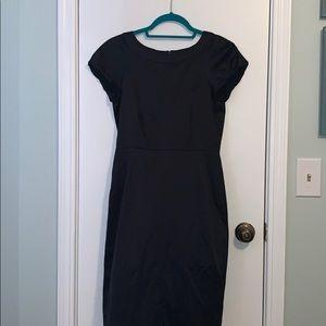 Classy Silk Navy Theory Dress